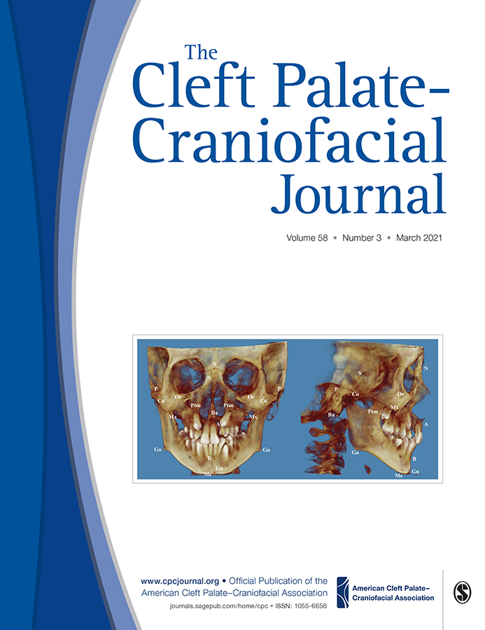 Cover image for the March issue of The Cleft Palate-Craniofacial Journal